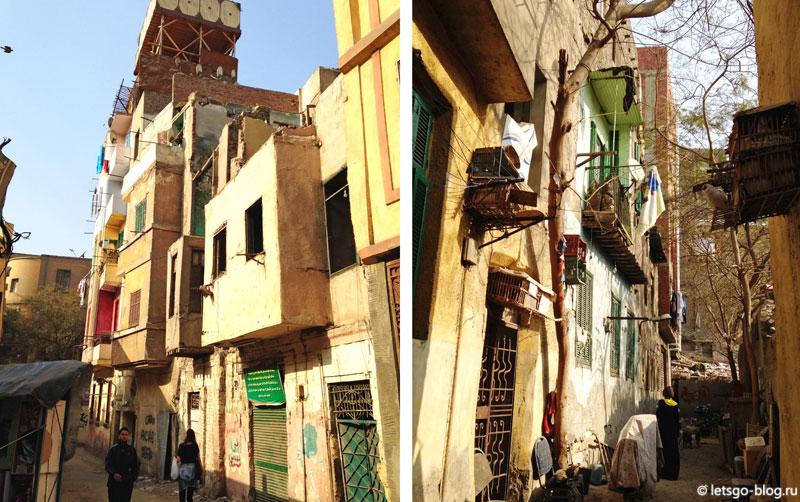 Старые дома в Каире