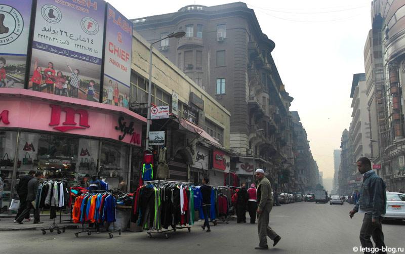 Уличный рынок в Каире