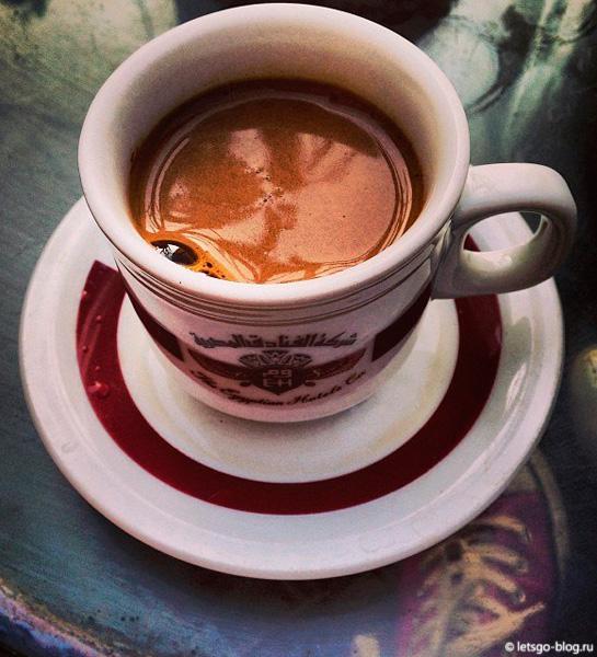 Турецкий кофе в Каире