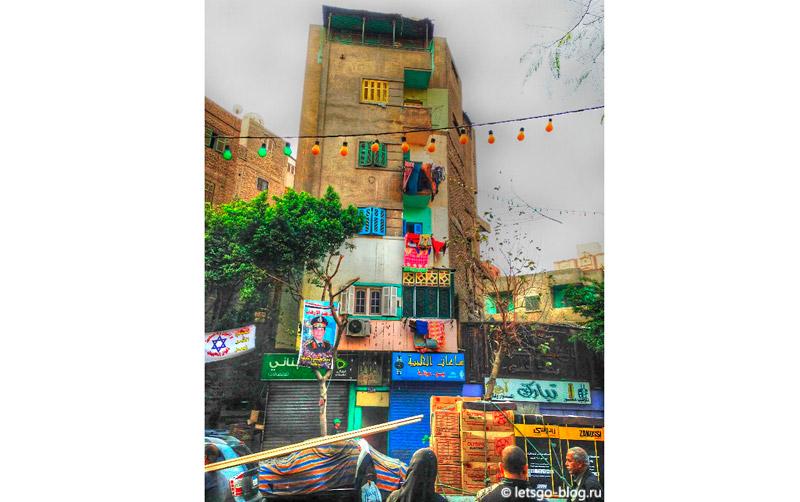 Разноцветные улицы Каира