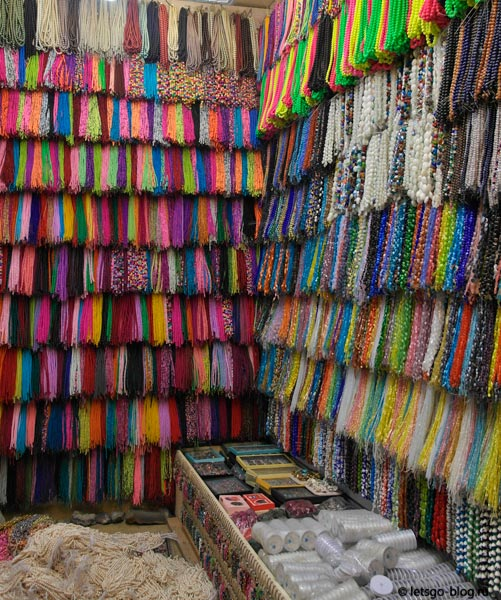 Рынок Хан эль-Халили. Бусы