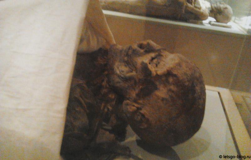 Каирский музей. Комната мумий. Мумия Хатшепсут