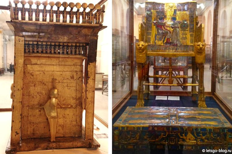Каирский музей. Коллекция Тутанхамона