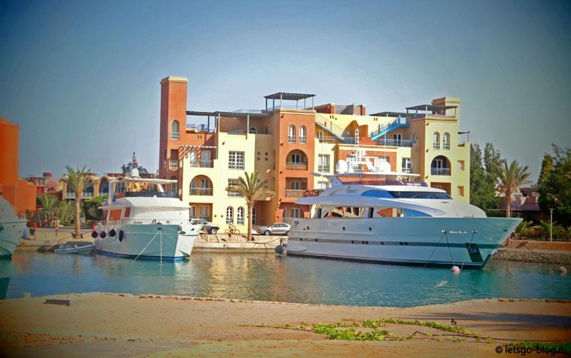 Набережная Марина, Эль-Гуна, Египет