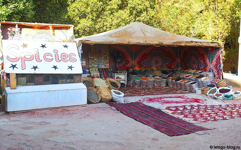 Палатка со специями. Даунтаун Эль-Гуна, Египет