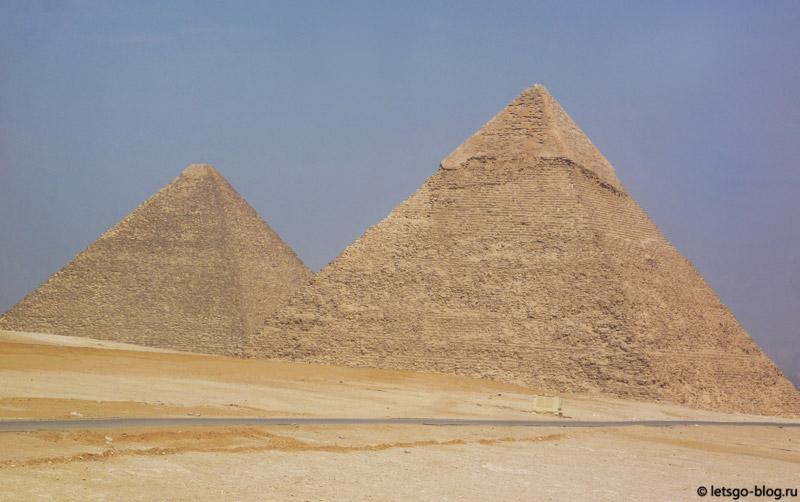 Великие пирамиды Гизы - Хеопса, Хефрена