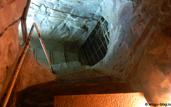 Пирамида Хеопса. Закрытый проход