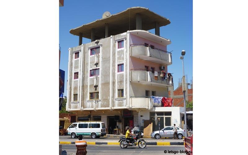 улица в районе Дахар Хургада