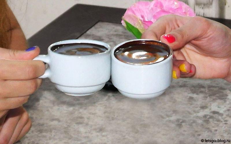 турецкий кофе в Хургаде