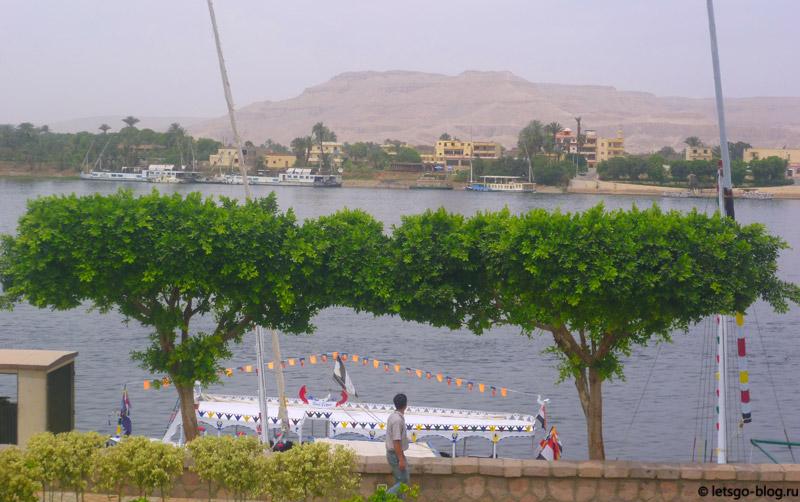 Набережная Нила, Луксор