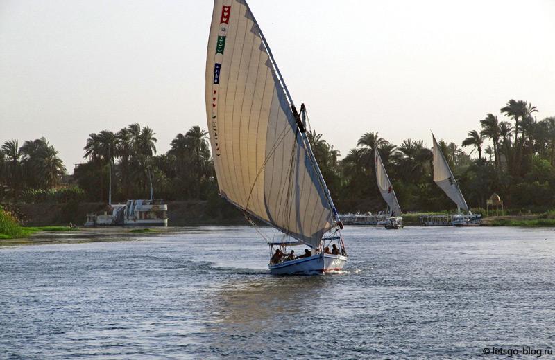 Прогулка по Нилу. Луксор.