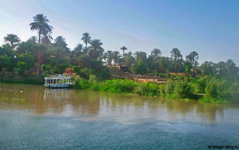 Прогулка по Нилу. Луксор. Банановый остров