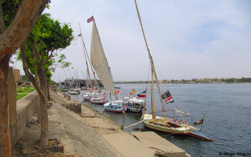 Набережная в Луксоре