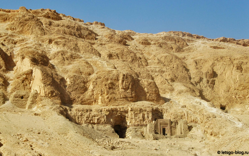 Храм Хатшепсут. Луксор. Раскопки