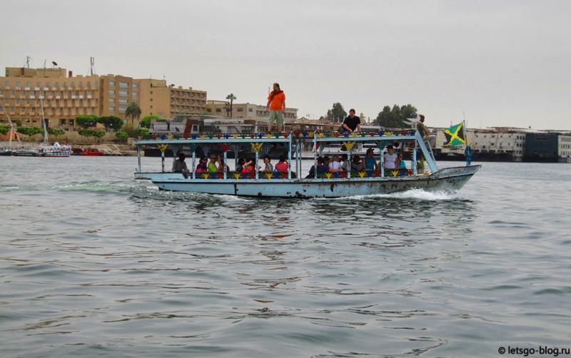 Кораблик на реке Нил, Луксор