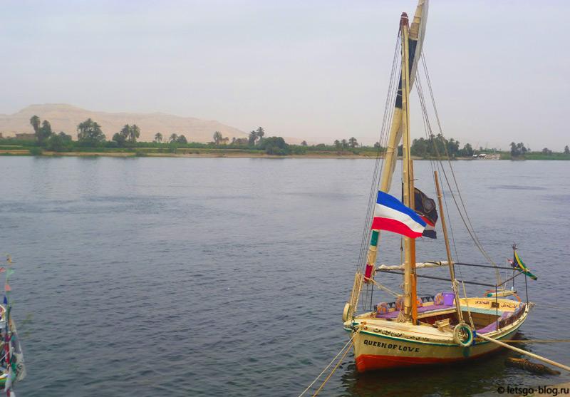 Река Нил. Луксор