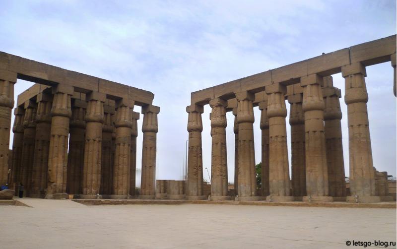 Луксорский храм. Двор Аменхотепа III