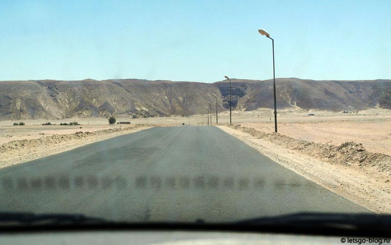 По дороге в Сафагу, Египет