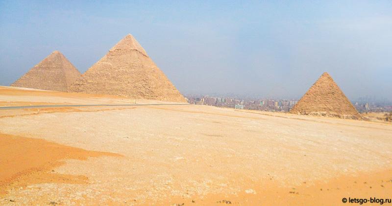 Великие пирамиды Гизы - Хеопса, Хефрена, Микерина