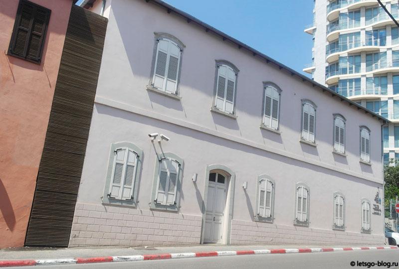 Тель-Авив, интересный дом