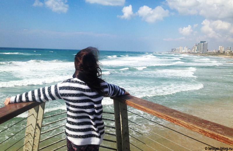 Тель-Авив. Пляж Альма (Alma)