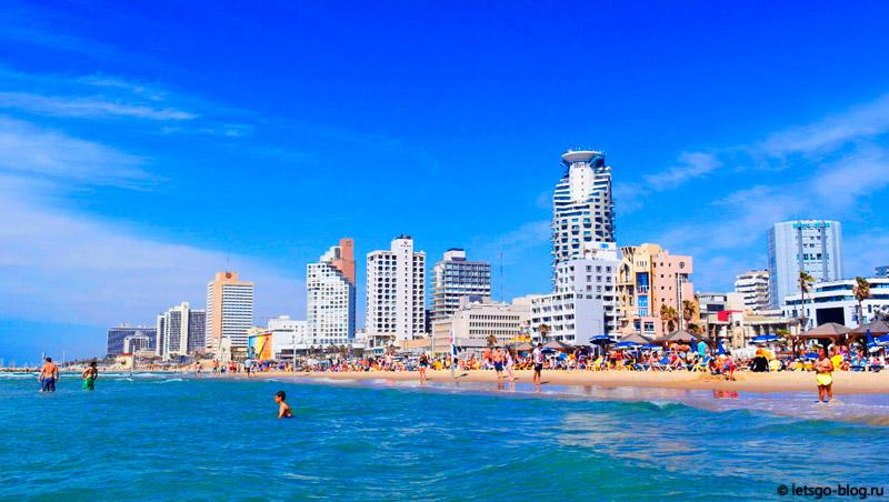 Тель-Авив. Пляж Иерушалаим (Yerushalaim)