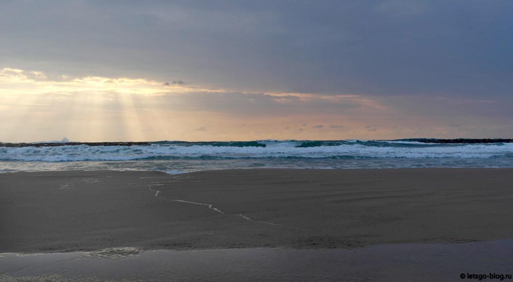 Тель-Авив. Средиземное море