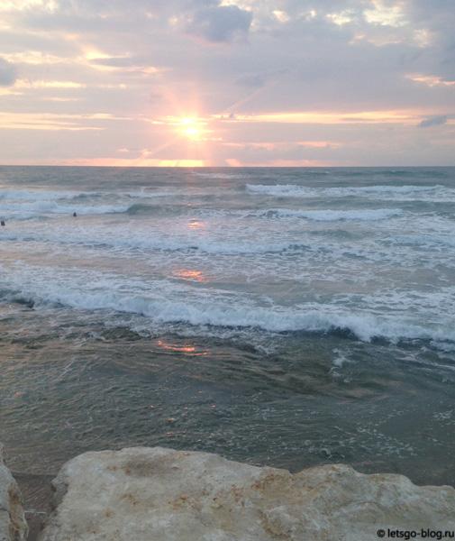 Тель-Авив. Закат
