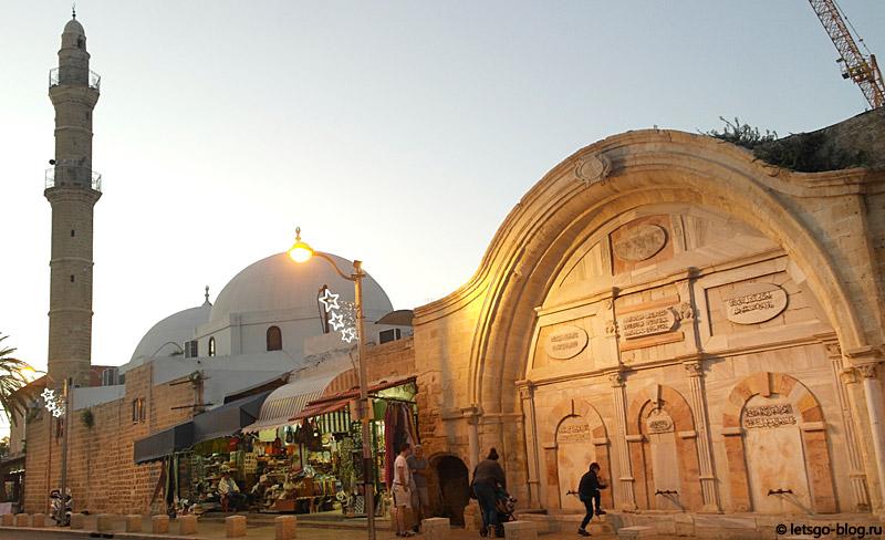 Тель-Авив-Яффо. Турецкая полиция Кишле