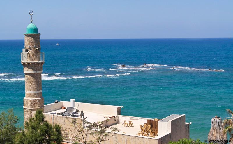 Старый Яффо. Морская мечеть и Скалы Андромеды