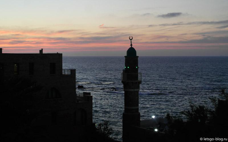 Старый Яффо. Морская мечеть