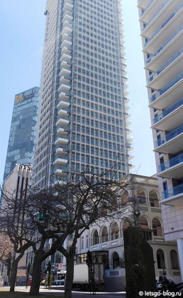 Тель-Авив, бульвар Ротшильда (Sderot Rothschild)