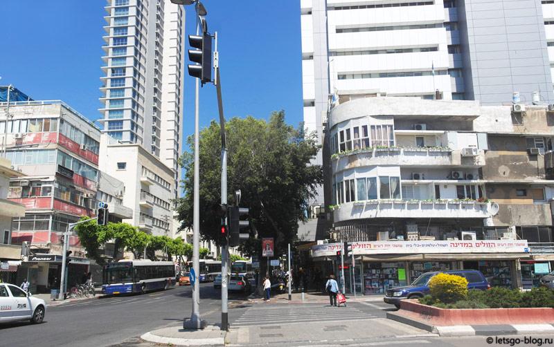 Белый город. Улица Йехуда Алеви (Yehuda Halevi)