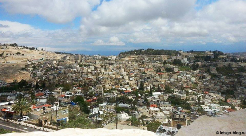 Иерусалим, жилой квартал