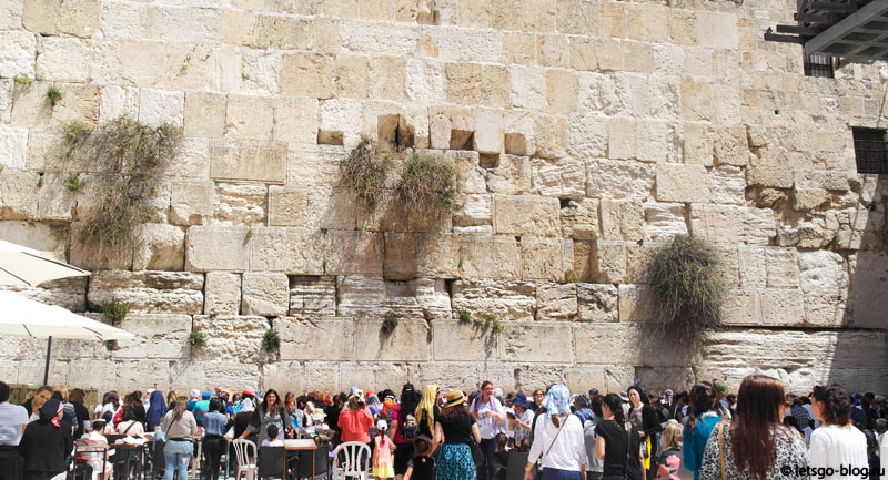 Иерусалим, Стена Плача, женская половина