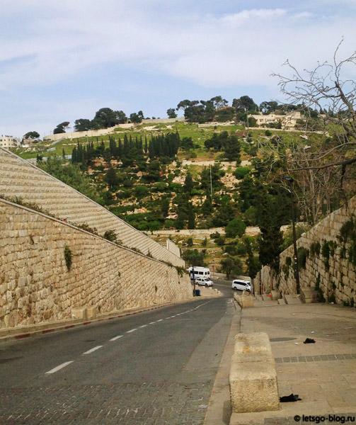 Как добраться до Елеонской горы от Старого города