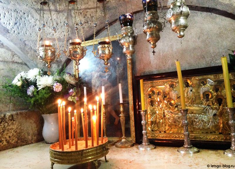 Гробница Богородицы, Масличная гора
