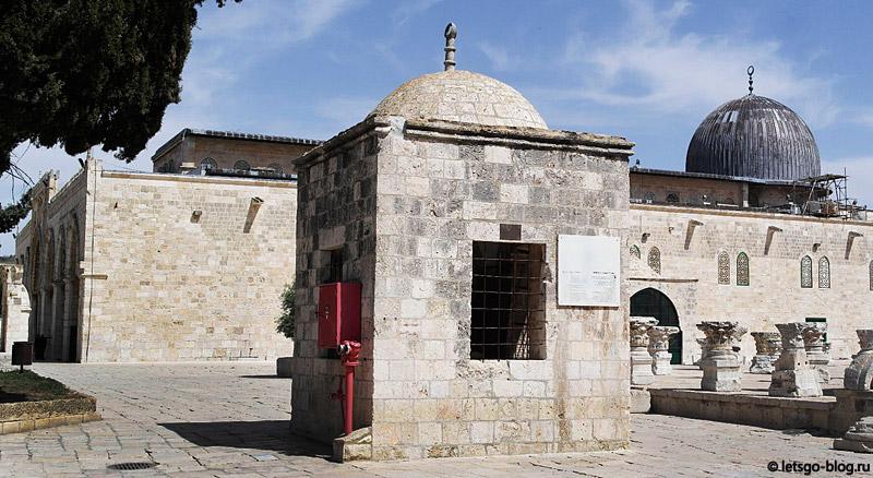 Храмовая Гора, Иерусалим. Мечеть Аль-Акса