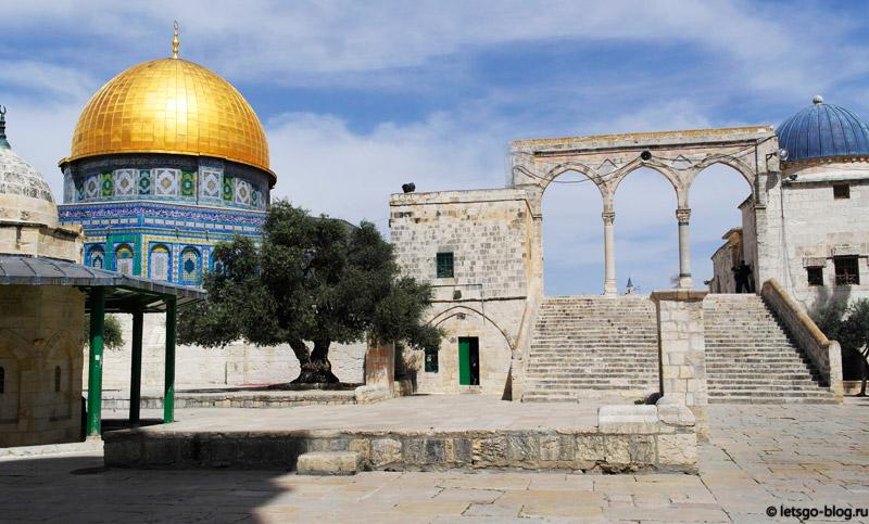 Храмовая Гора, Иерусалим. Мечеть Купол Скалы