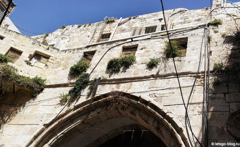 Иерусалим, Храмовая Гора. Цепные ворота