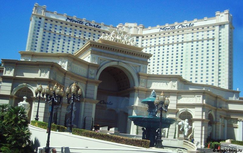 Отель Монте Карло, Лас-Вегас