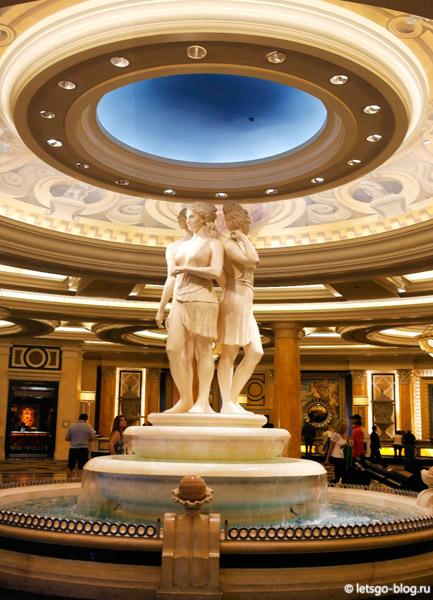Отель Цезарь Пэлэс, Лас-Вегас