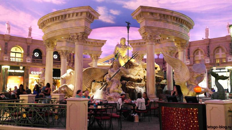 Магазины в Отель Цезарь Пэлэс, Лас-Вегас