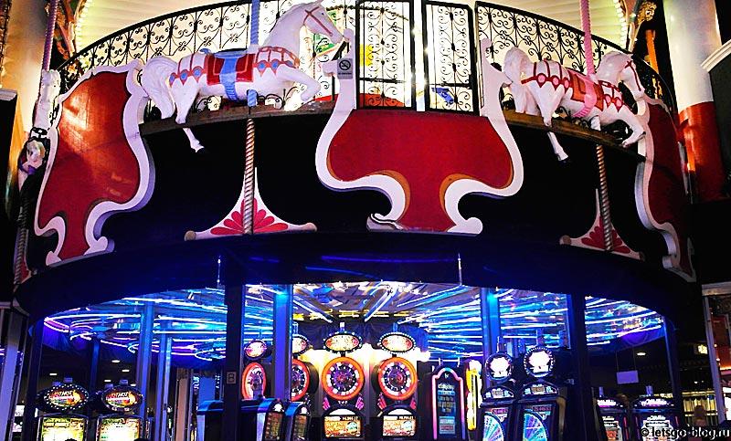 Казино отеля Цирк Цирк, Лас-Вегас