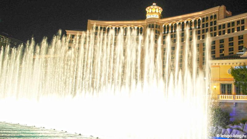 Поющие фонтаны Белладжио