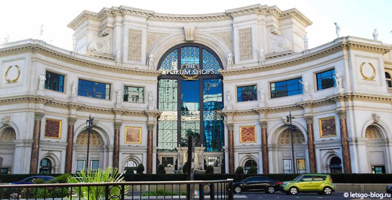 Forum Shops в Caesars Palace Лас-Вегас