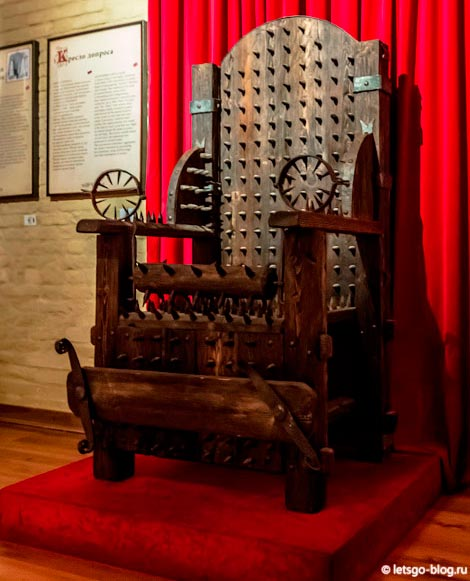 Музей пыток спб
