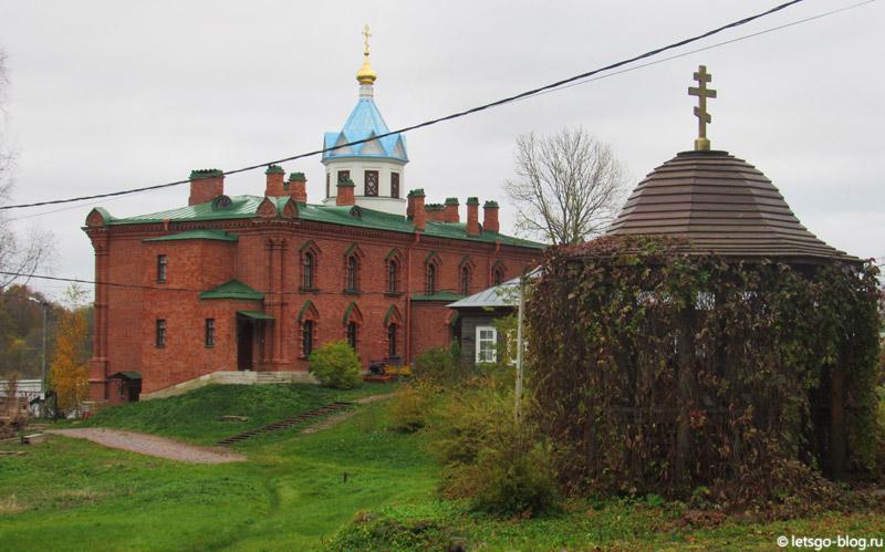 Старая Ладога монастырь