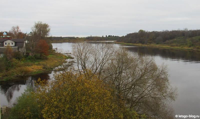 Старая Ладога река Волхов