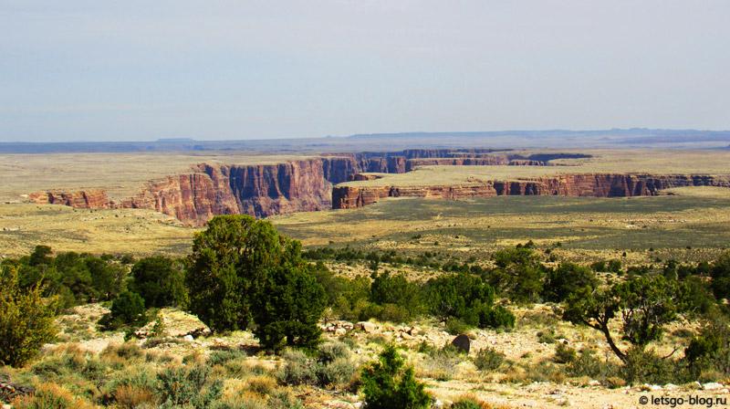 Река Колорадо, Grand Canyon East